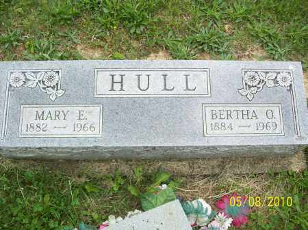 HULL, MARY E - Adams County, Ohio | MARY E HULL - Ohio Gravestone Photos
