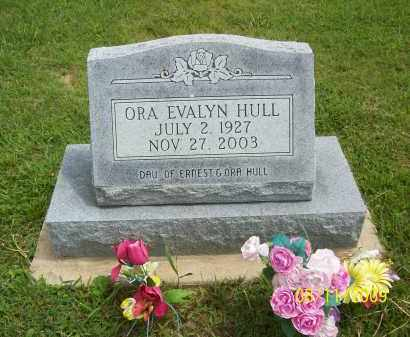 HULL, ORA EVALYN - Adams County, Ohio | ORA EVALYN HULL - Ohio Gravestone Photos
