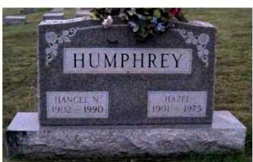 HUMPHREY, HANCEL N. - Adams County, Ohio | HANCEL N. HUMPHREY - Ohio Gravestone Photos