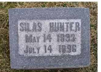 HUNTER, SILAS - Adams County, Ohio | SILAS HUNTER - Ohio Gravestone Photos