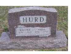 HURD, WALTER - Adams County, Ohio | WALTER HURD - Ohio Gravestone Photos