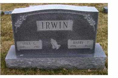 IRWIN, HARRY J. - Adams County, Ohio | HARRY J. IRWIN - Ohio Gravestone Photos