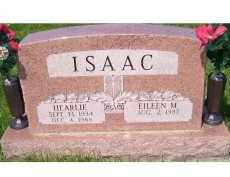 ISAAC, EILEEN M. - Adams County, Ohio | EILEEN M. ISAAC - Ohio Gravestone Photos
