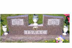 ISAAC, LINA - Adams County, Ohio | LINA ISAAC - Ohio Gravestone Photos