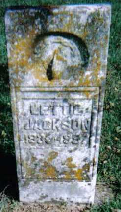 JACKSON, LETTIE - Adams County, Ohio   LETTIE JACKSON - Ohio Gravestone Photos