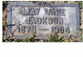 VANE JACKSON, MAY - Adams County, Ohio | MAY VANE JACKSON - Ohio Gravestone Photos