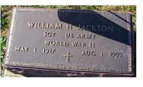 JACKSON, WILLIAM H. - Adams County, Ohio | WILLIAM H. JACKSON - Ohio Gravestone Photos