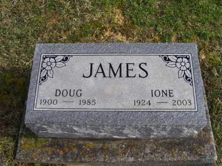 JAMES, IONE - Adams County, Ohio | IONE JAMES - Ohio Gravestone Photos
