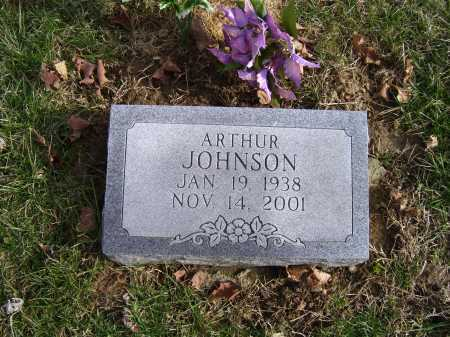 JOHNSON, ARTHUR - Adams County, Ohio | ARTHUR JOHNSON - Ohio Gravestone Photos