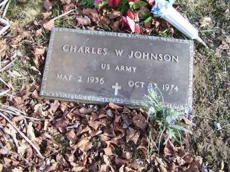 JOHNSON, CHARLES W. - Adams County, Ohio   CHARLES W. JOHNSON - Ohio Gravestone Photos