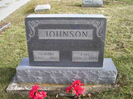 JOHNSON, CLAUDIA - Adams County, Ohio | CLAUDIA JOHNSON - Ohio Gravestone Photos