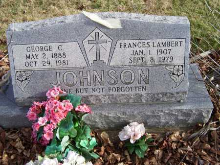 JOHNSON, FRANCES - Adams County, Ohio | FRANCES JOHNSON - Ohio Gravestone Photos