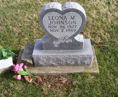 JOHNSON, LEONA M. - Adams County, Ohio | LEONA M. JOHNSON - Ohio Gravestone Photos