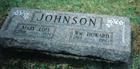JOHNSON, WM. HOWARD - Adams County, Ohio | WM. HOWARD JOHNSON - Ohio Gravestone Photos