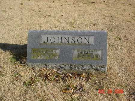 JOHNSON, ELIZABETH L. - Adams County, Ohio | ELIZABETH L. JOHNSON - Ohio Gravestone Photos