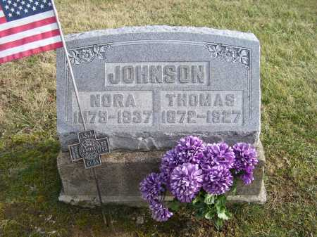 JOHNSON, NORA - Adams County, Ohio | NORA JOHNSON - Ohio Gravestone Photos