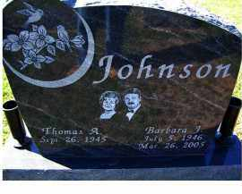 JOHNSON, BARBARA J. - Adams County, Ohio | BARBARA J. JOHNSON - Ohio Gravestone Photos