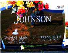 JOHNSON, THOMAS ALLEN - Adams County, Ohio | THOMAS ALLEN JOHNSON - Ohio Gravestone Photos
