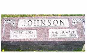 JOHNSON, MARY LOIS - Adams County, Ohio | MARY LOIS JOHNSON - Ohio Gravestone Photos