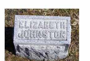 JOHNSTON, ELIZABETH - Adams County, Ohio | ELIZABETH JOHNSTON - Ohio Gravestone Photos