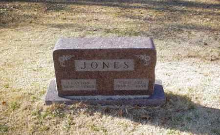 JONES, CLEO - Adams County, Ohio | CLEO JONES - Ohio Gravestone Photos