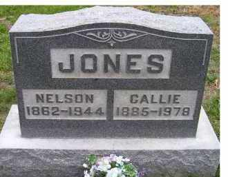 JONES, CALLIE - Adams County, Ohio | CALLIE JONES - Ohio Gravestone Photos