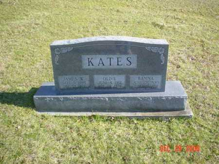 KATES, JAMES W. - Adams County, Ohio | JAMES W. KATES - Ohio Gravestone Photos