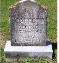 KEAPFOTT, GEORGE - Adams County, Ohio | GEORGE KEAPFOTT - Ohio Gravestone Photos