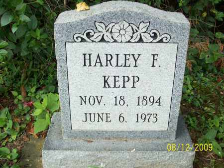 KEPPS, HARLEY F - Adams County, Ohio | HARLEY F KEPPS - Ohio Gravestone Photos