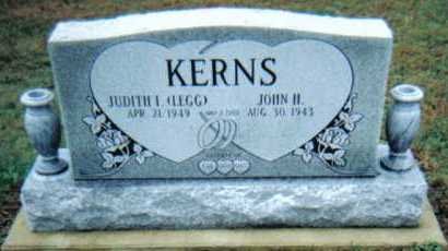 KERNS, JOHN H. - Adams County, Ohio | JOHN H. KERNS - Ohio Gravestone Photos