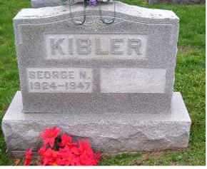 KIBLER, GEORGE N. - Adams County, Ohio | GEORGE N. KIBLER - Ohio Gravestone Photos