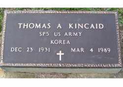 KINCAID, THOMAS A. - Adams County, Ohio | THOMAS A. KINCAID - Ohio Gravestone Photos