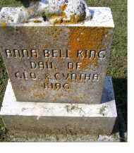 KING, ANNA BELL - Adams County, Ohio | ANNA BELL KING - Ohio Gravestone Photos