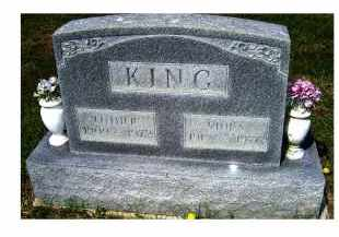 KING, LUTHER - Adams County, Ohio | LUTHER KING - Ohio Gravestone Photos