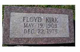 KIRK, FLOYD - Adams County, Ohio | FLOYD KIRK - Ohio Gravestone Photos