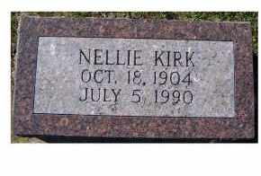 KIRK, NELLIE - Adams County, Ohio | NELLIE KIRK - Ohio Gravestone Photos