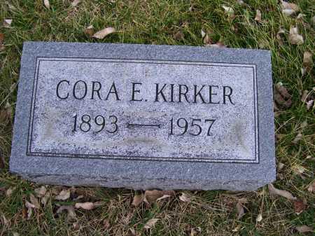 KIRKER, CORA E. - Adams County, Ohio | CORA E. KIRKER - Ohio Gravestone Photos