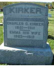 KIRKER, EMMA - Adams County, Ohio | EMMA KIRKER - Ohio Gravestone Photos