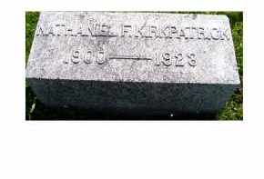 KIRKPATRICK, NATHANIEL F. - Adams County, Ohio | NATHANIEL F. KIRKPATRICK - Ohio Gravestone Photos