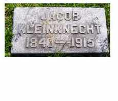 KLEINKNECHT, JACOB - Adams County, Ohio | JACOB KLEINKNECHT - Ohio Gravestone Photos
