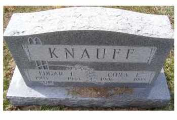 KNAUFF, EDGAR E. - Adams County, Ohio | EDGAR E. KNAUFF - Ohio Gravestone Photos