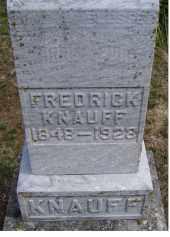 KNAUFF, FREDRICK - Adams County, Ohio | FREDRICK KNAUFF - Ohio Gravestone Photos