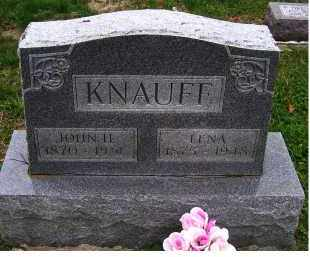 KNAUFF, LENA - Adams County, Ohio | LENA KNAUFF - Ohio Gravestone Photos