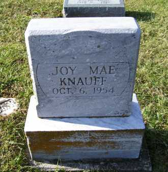KNAUFF, JOY MAE - Adams County, Ohio | JOY MAE KNAUFF - Ohio Gravestone Photos
