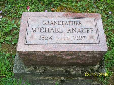 KNAUFF, MICHAEL - Adams County, Ohio | MICHAEL KNAUFF - Ohio Gravestone Photos