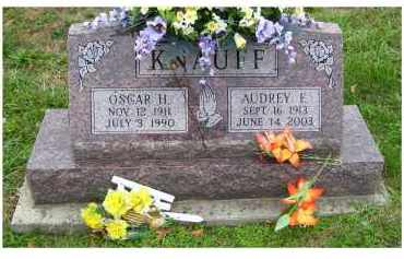 KNAUFF, OSCAR H. - Adams County, Ohio | OSCAR H. KNAUFF - Ohio Gravestone Photos