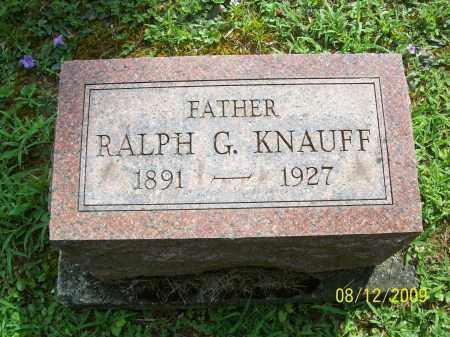 KNAUFF, RALPH G - Adams County, Ohio | RALPH G KNAUFF - Ohio Gravestone Photos