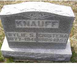 KNAUFF, WYLIE S. - Adams County, Ohio | WYLIE S. KNAUFF - Ohio Gravestone Photos