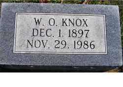 KNOX, W. O. - Adams County, Ohio | W. O. KNOX - Ohio Gravestone Photos