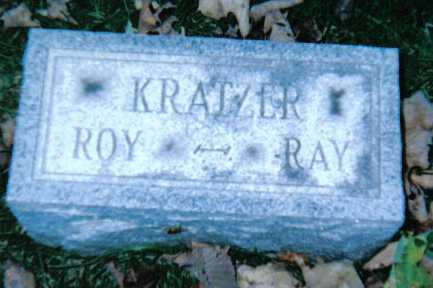 KRATZER, ROY - Adams County, Ohio | ROY KRATZER - Ohio Gravestone Photos